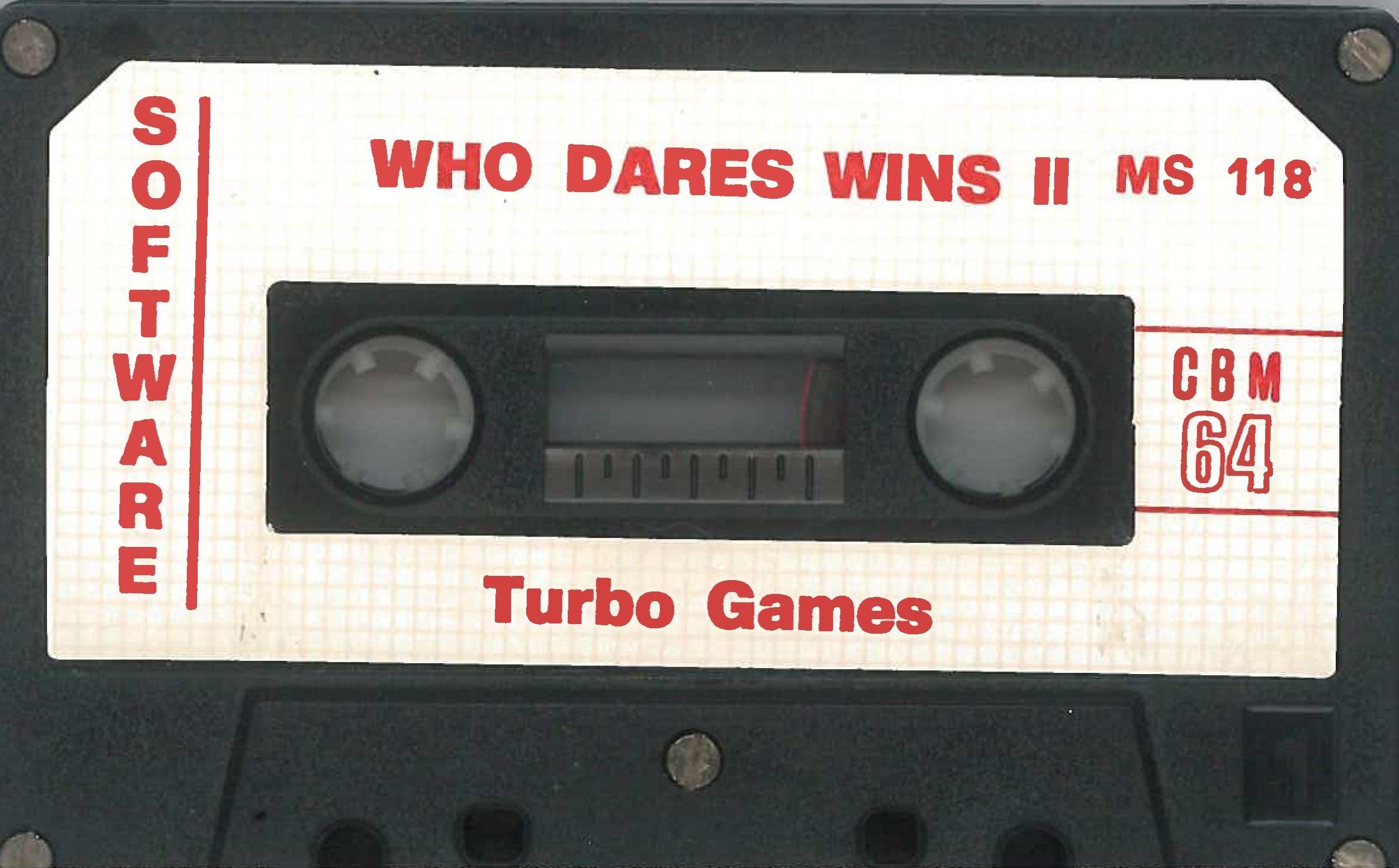 WHO DARES WIN II MS 118