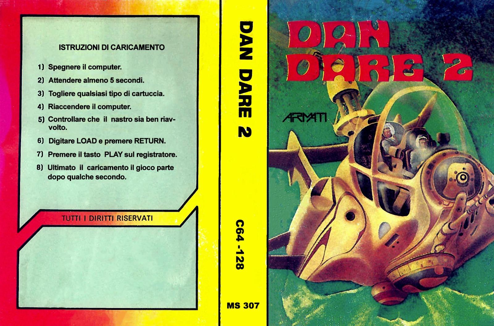DAN DARE 2 MS 307
