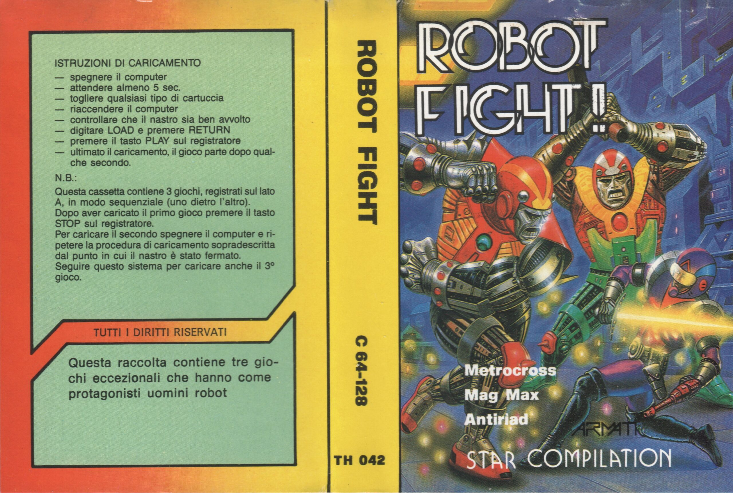 ROBOT FIGHT TH 042 COLLECTION