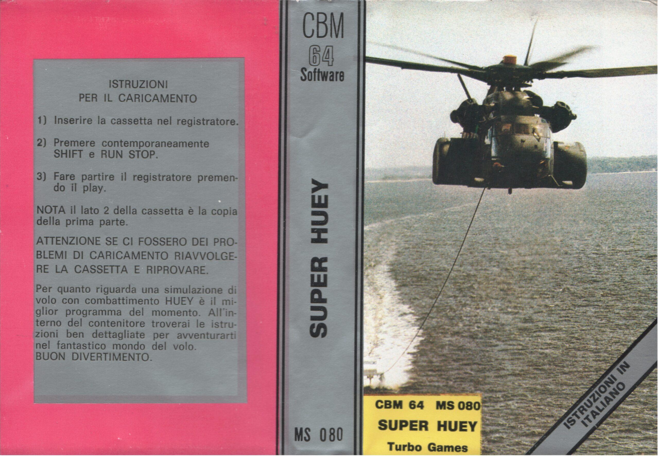 SUPER HUEY MS 80 LATO A