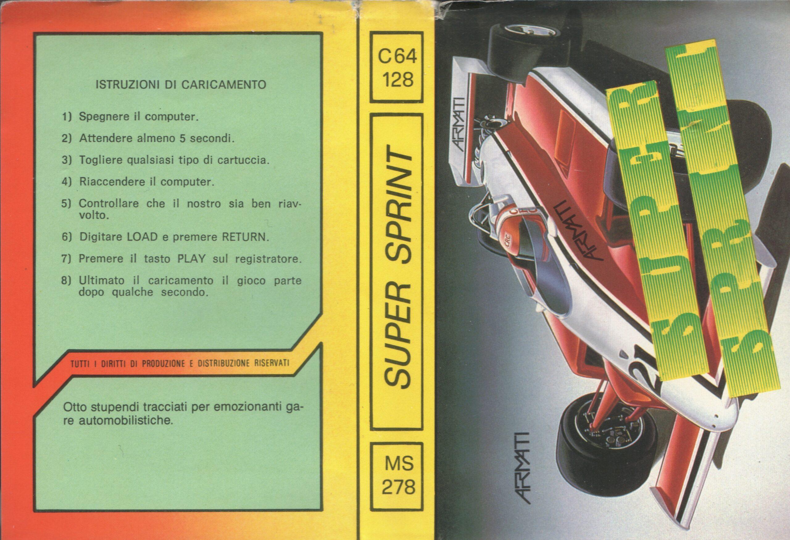 SUPER SPRINT MS 278