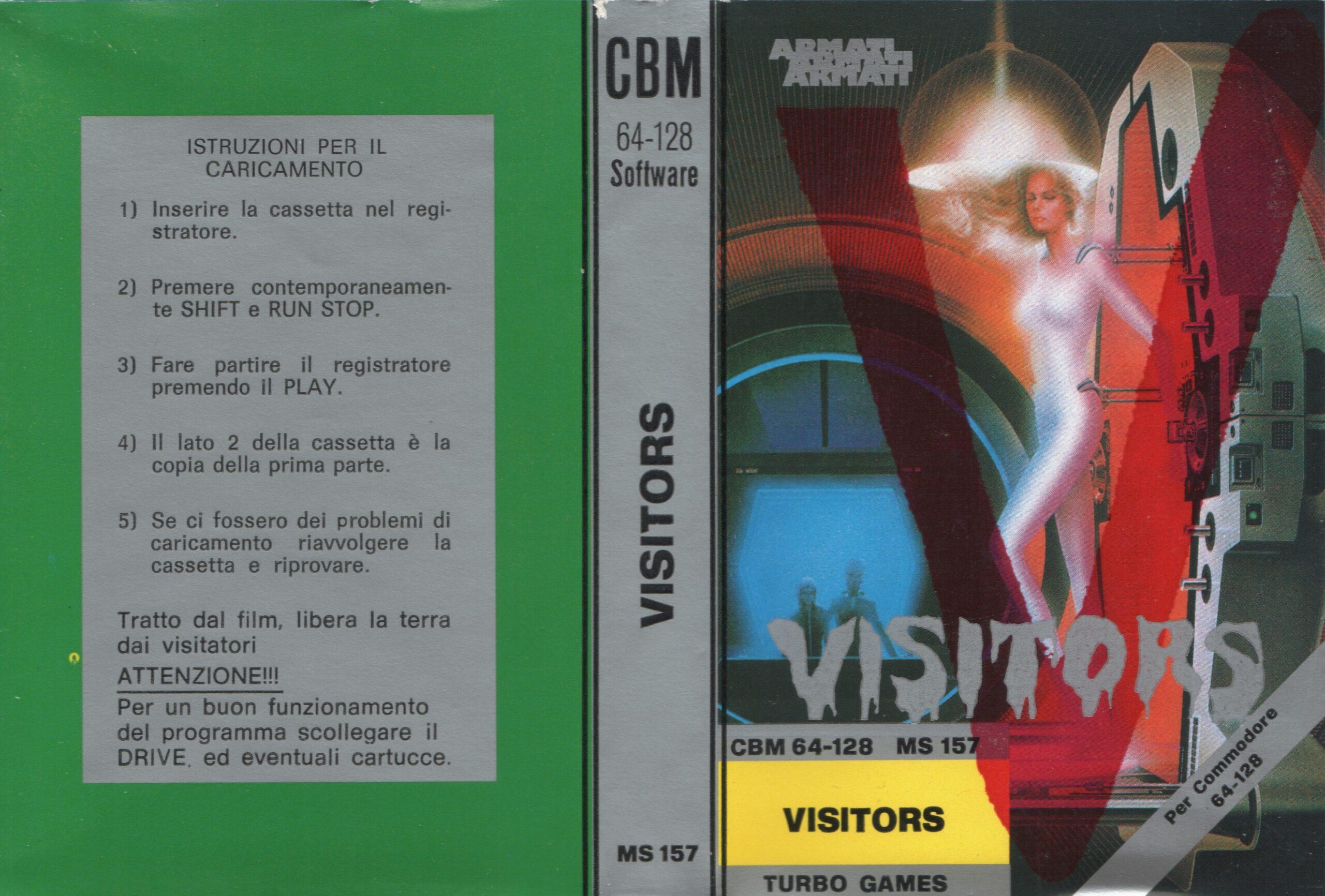 VISITORS MS 157