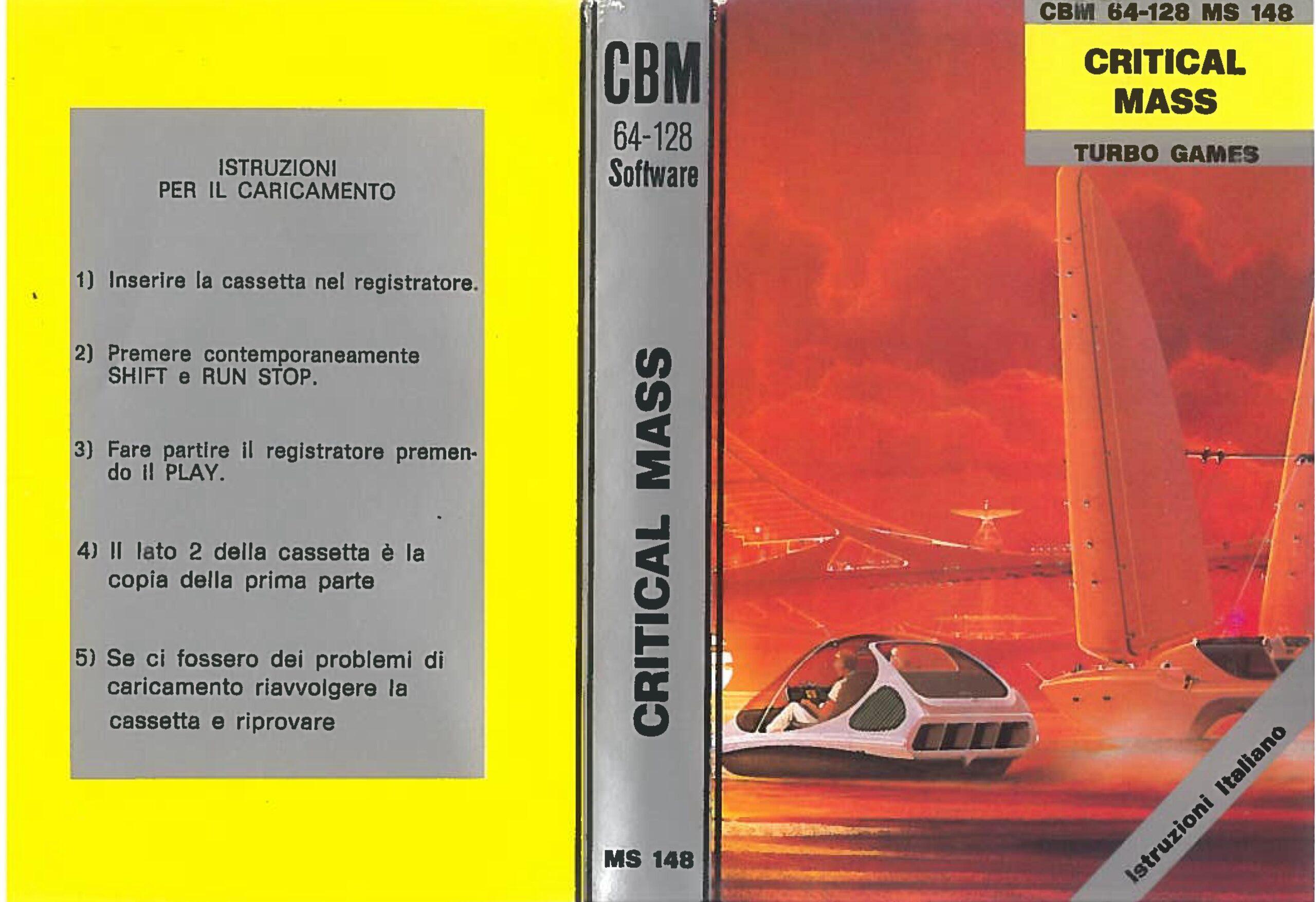 CRITICAL MASS MS 148