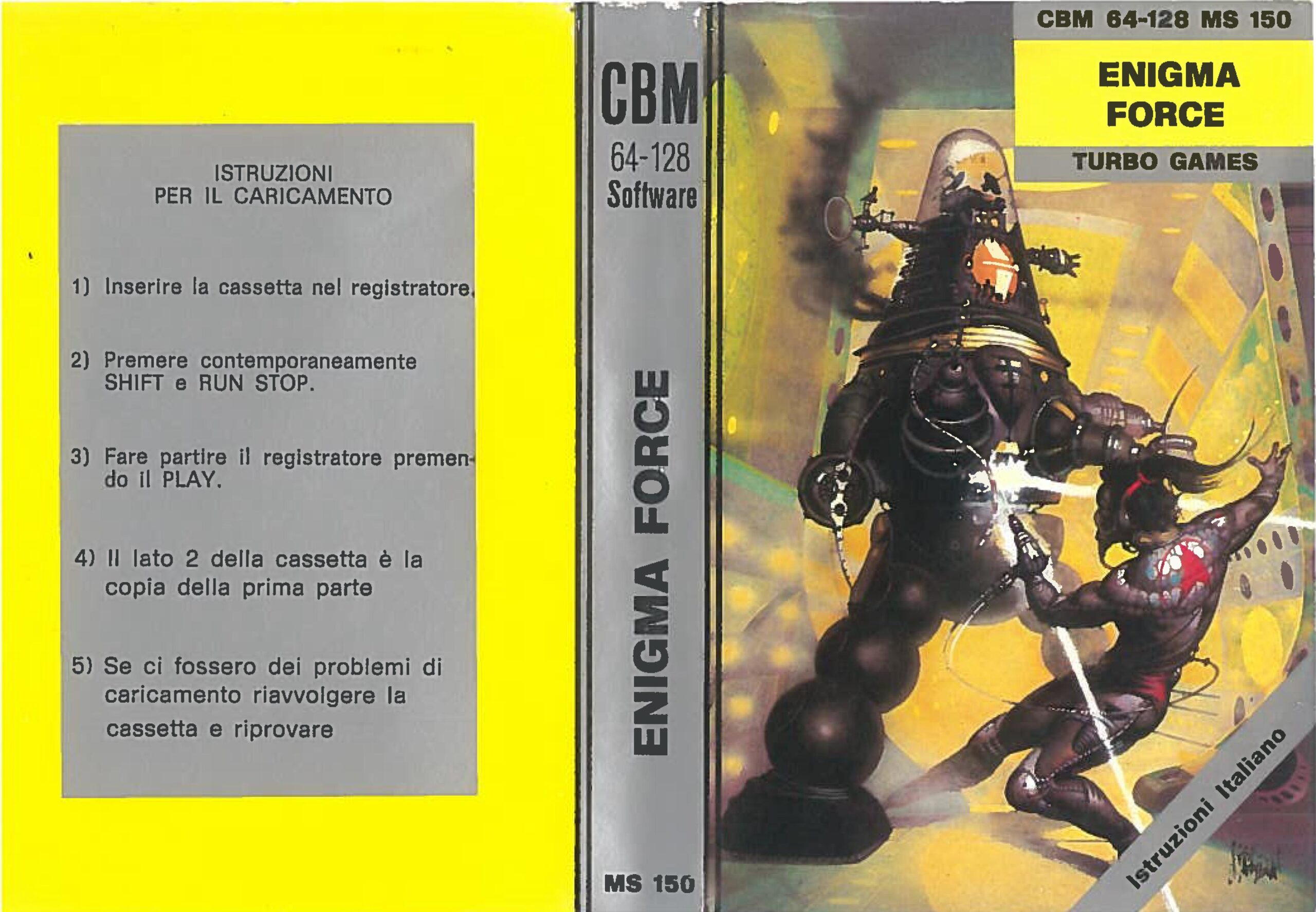 ENIGMA FORCE MS 150