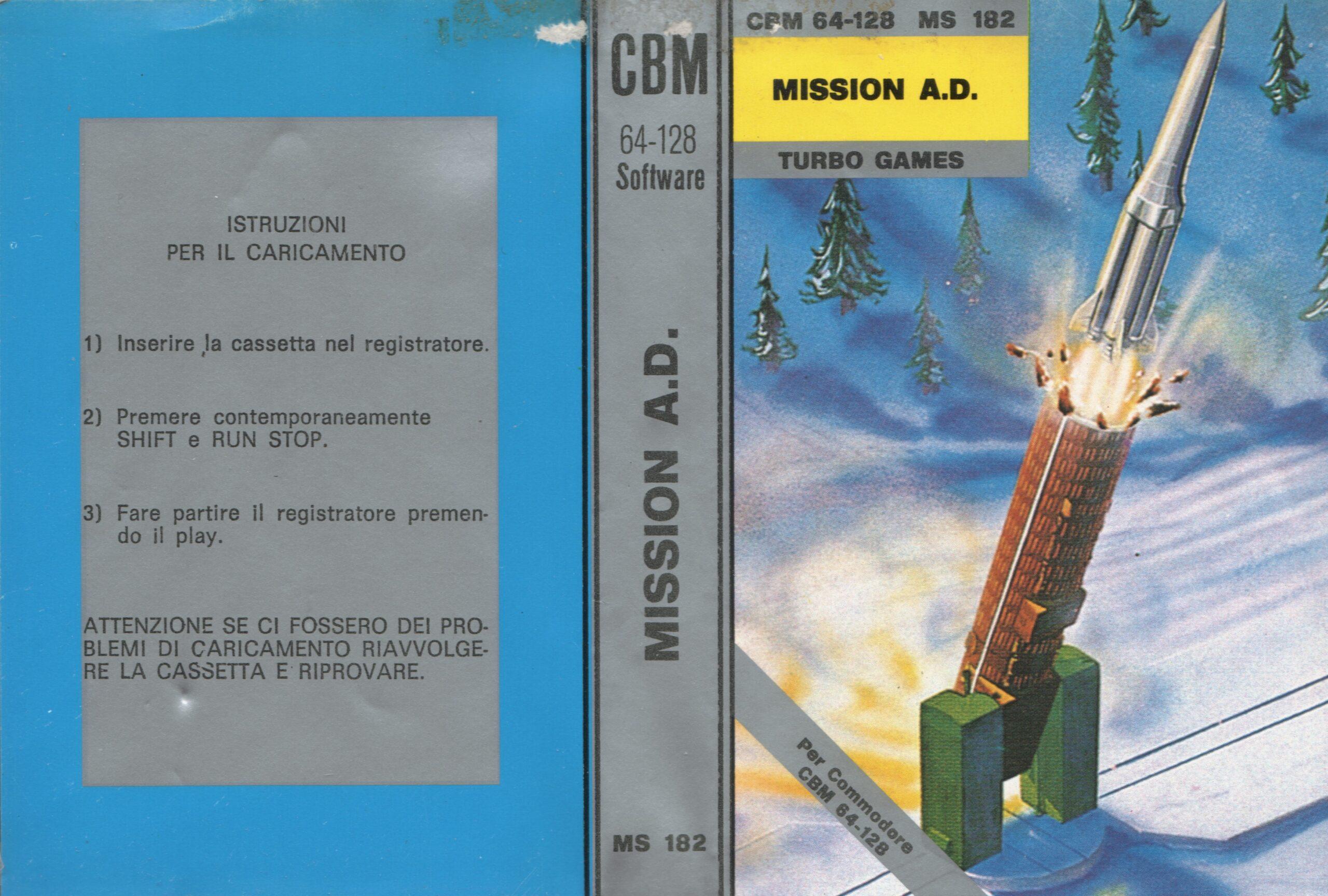 MISSION A.D. MS 182