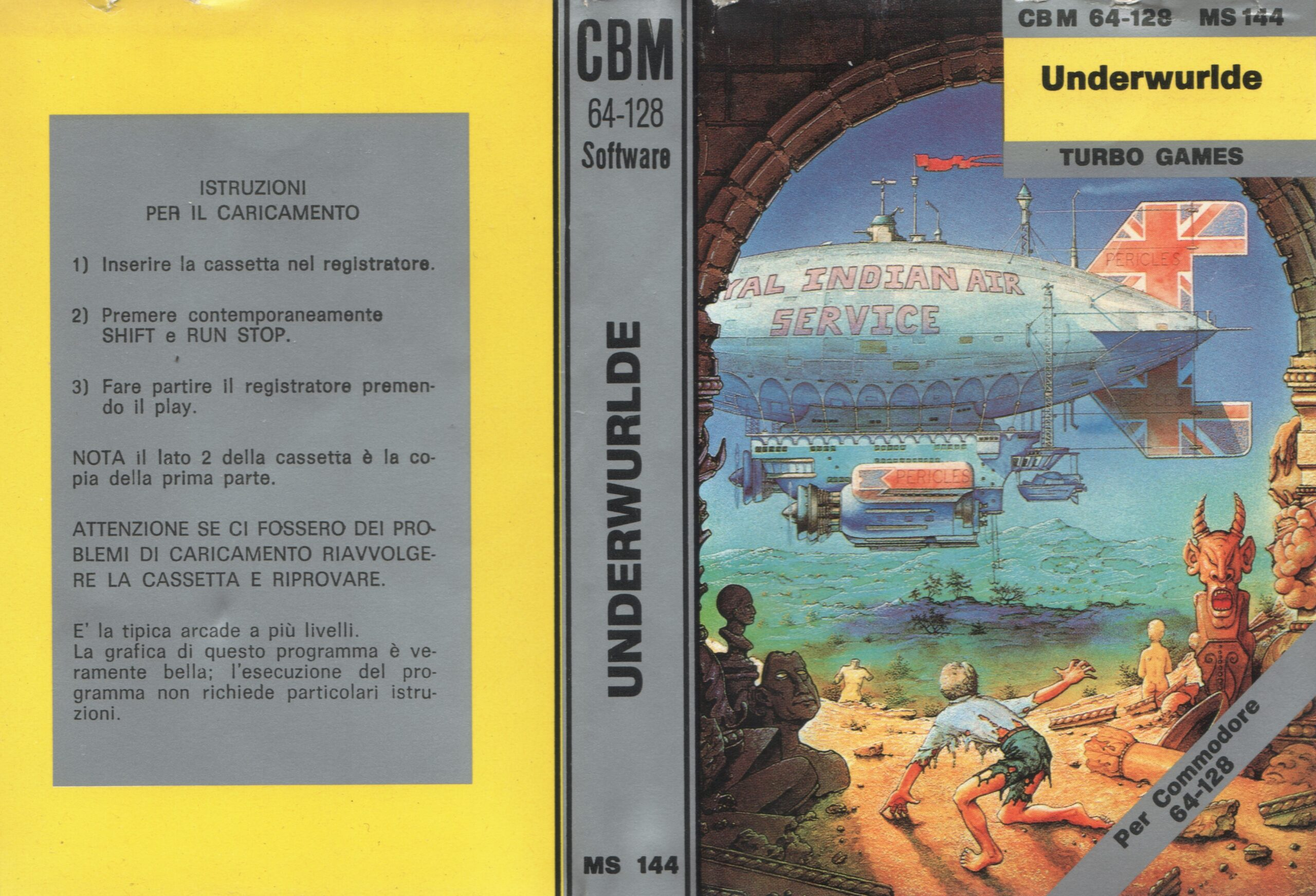 UNDERWURLDE MS 144