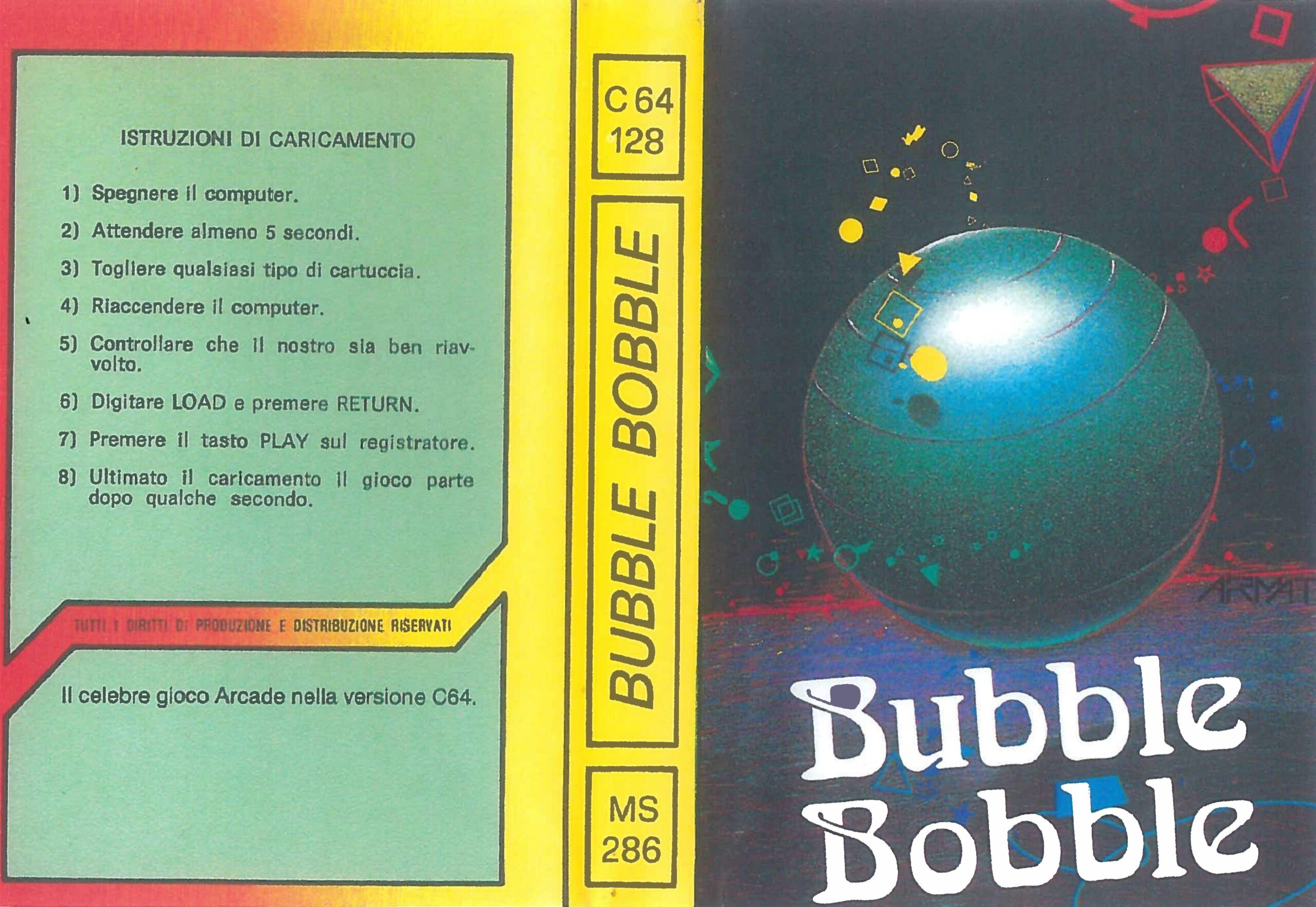 BUBBLE BOBBLE MS 288