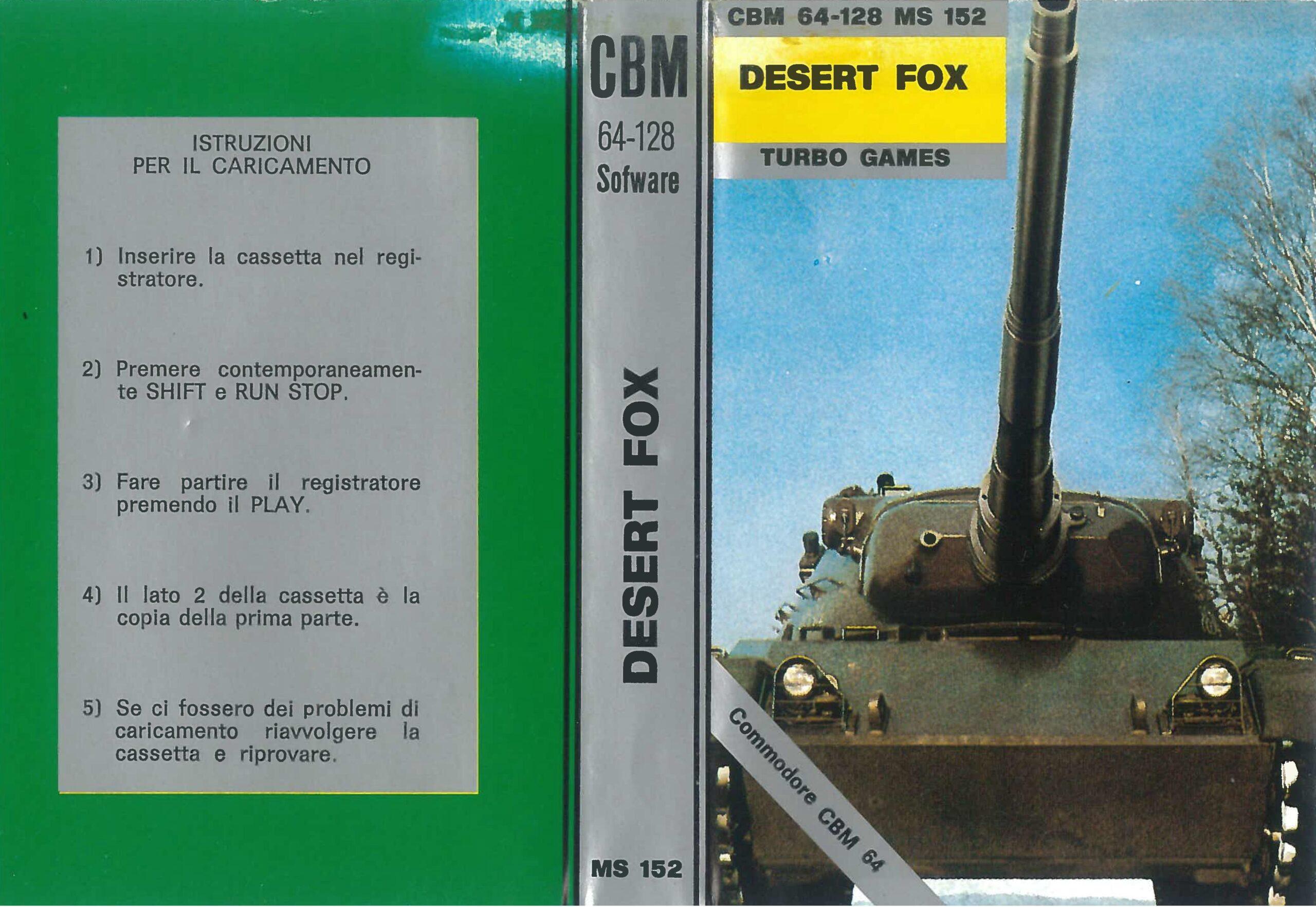 DESERT FOX MS 152