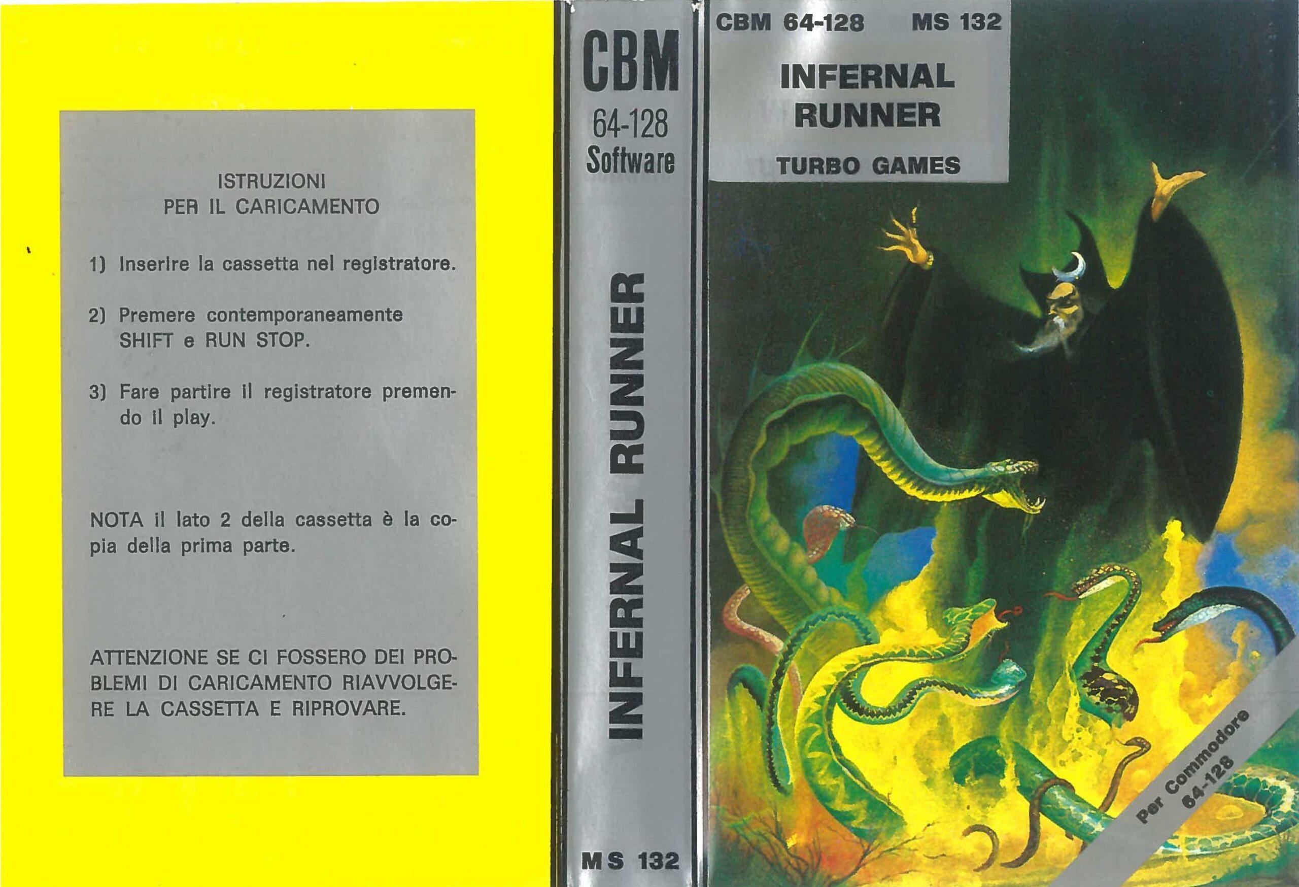 INFERNAL RUNNER MS 132