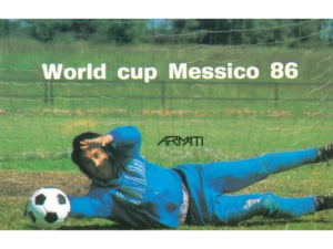 MS 162 WORD CUP MESSICO 86