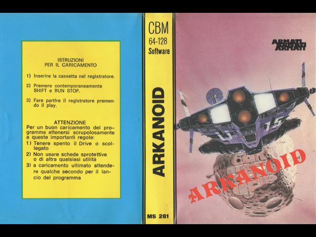 MS 261 ARKANOID
