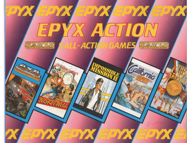 EPYX Action – 5 All Action Games