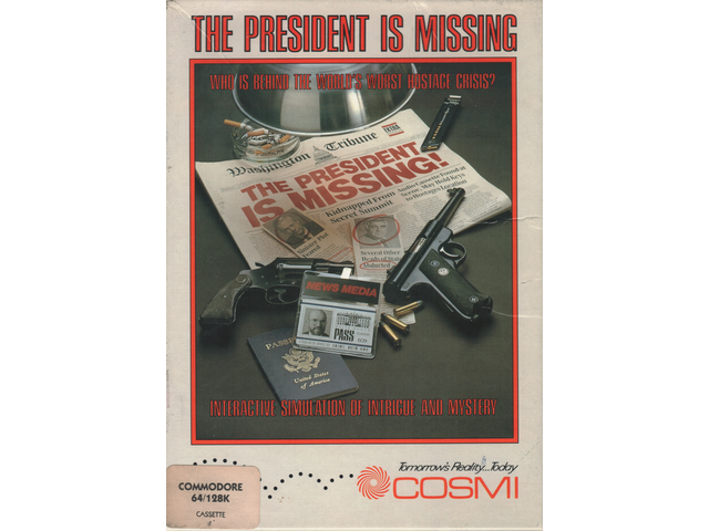 The President is Missing!